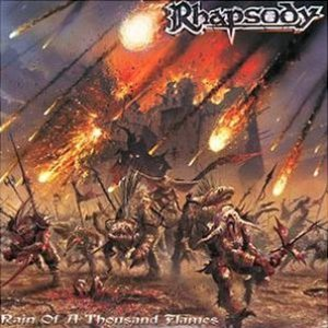 Rhapsody - Rain of a Thousand Flames cover art