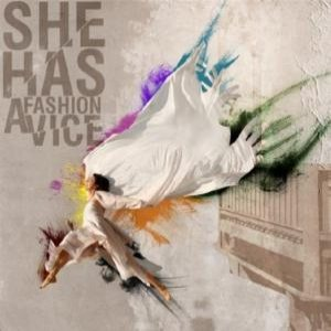 She Has A Fashion Vice - A White Dress to Match Her White Eyes cover art
