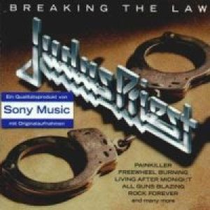 Judas Priest - Breaking the Law cover art