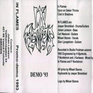 In Flames - Demo '93 cover art