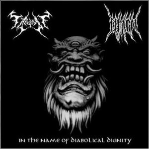 Fra Hedensk Tid / Omen - In the Name of Diabolical Dignity cover art