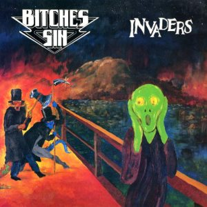 Bitches Sin - Invaders cover art