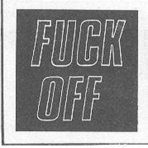 Fuck Off - Fuck Off cover art