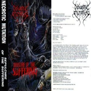 Necrotic Mutation - Sepulchre of the Suffering cover art