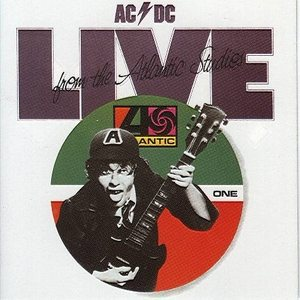 AC/DC - Live from the Atlantic Studios cover art