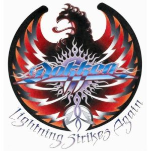 Dokken - Lightning Strikes Again cover art