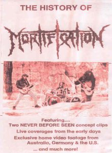 Mortification - The History of Mortification cover art