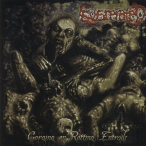 Eviscerated - Gorging on rotting Entrails cover art
