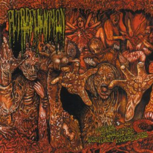 Putrefukation - Vortex of Zombified Mortuary Procedures cover art