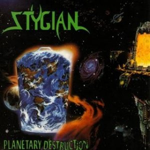 Stygian - Planetary Destruction cover art