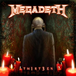 Megadeth - TH1RT3EN cover art