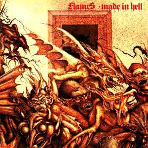 Flames - Made in Hell cover art
