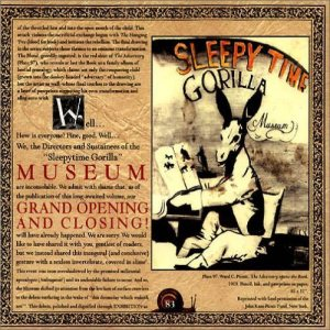 Sleepytime Gorilla Museum - Grand Opening and Closing cover art