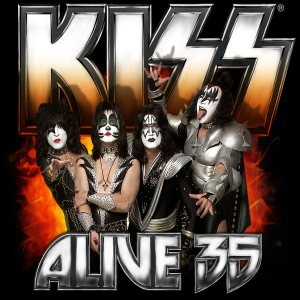 Kiss - Alive 35 cover art
