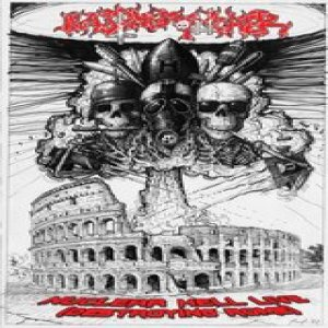 Blasphemophagher - Nuclear Hell Live - Destroying Rome cover art