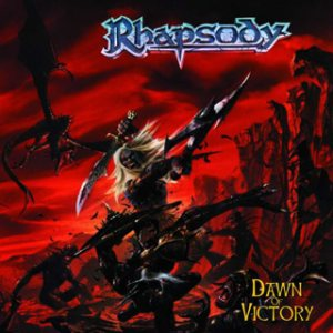 Rhapsody - Dawn of Victory cover art