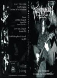 Nachtmystium - Visual Propaganda: Live from the Pits of Damnation cover art