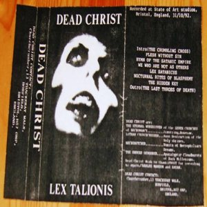 Dead Christ - Lex Talionis cover art