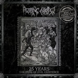 Rotting Christ - 25 Years: the Path of Evil Existence cover art