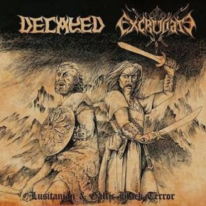 Decayed - Lusitanian & Gallic Black Terror cover art