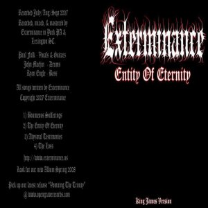 Exterminance - Entity of Eternity cover art