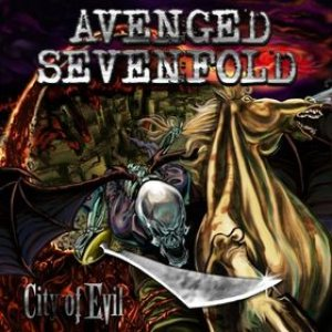 Avenged Sevenfold - City of Evil cover art