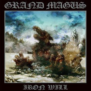 Grand Magus - Iron Will cover art