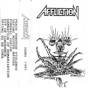Affliction - Demo 1991 cover art