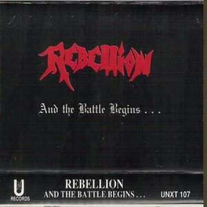 Rebellion - And the Battle Begins... cover art