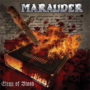 Marauder - Elegy of Blood cover art