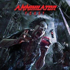 Annihilator - Feast cover art