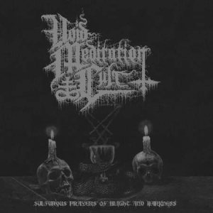 Void Meditation Cult / Sperm of Antichrist - Sulfurous Prayers of Blight and Darkness cover art