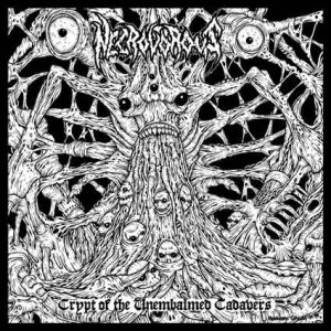 Necrovorous - Crypt of the Unembalmed Cadavers cover art
