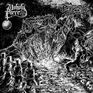 Unholy Force - The Arise of Pain and Death cover art