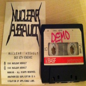 Nuclear Assault - Back with Vengeance cover art