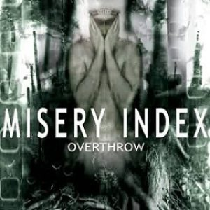 Misery Index - Overthrow cover art