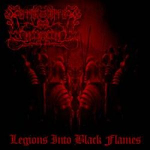 Smouldering in Forgotten - Legions Into Black Flames cover art
