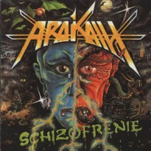 Arakain - Schizofrenie cover art