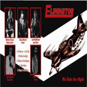 Eliminator - We Rule the Night cover art