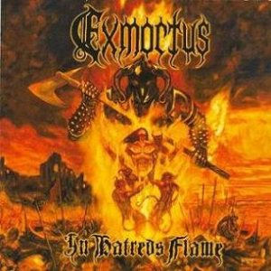 Exmortus - In Hatred's Flame cover art