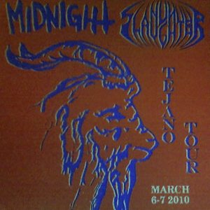 Nunslaughter / Midnight - Tejano Tour March 6-7 2010 cover art