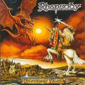 Rhapsody - Legendary Tales cover art