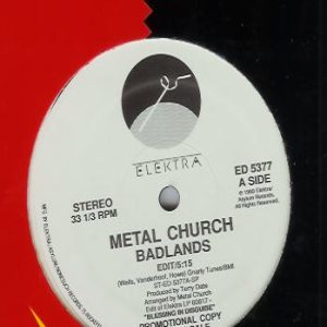 Metal Church - Badlands cover art