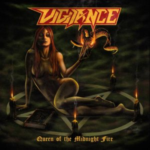 Vigilance - Queen of the Midnight Fire cover art