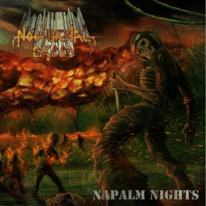 Nocturnal Breed - Napalm Nights cover art