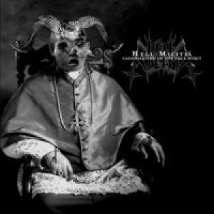 Hell Militia - Canonisation of the foul spirit cover art