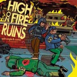High on Fire - High on Fire / Ruins cover art