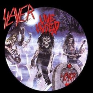 Slayer - Live Undead cover art