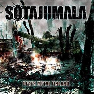 Sotajumala - Death Metal Finland cover art