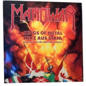 Manowar - Kings of Metal/Herz Aus Stahl cover art